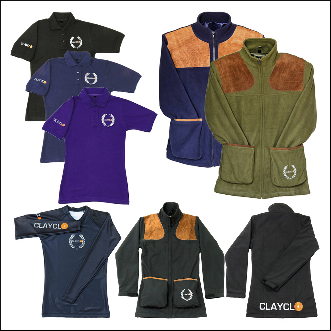 Accessory Clothing - Clayclo offer a complete range of accessory clothing to cater for all a shooters requirements.We have available, Polo Shirts, Polar Fleece Jackets, Softshell Jackets, Polar Fleece Gilets and Baselayers.Our accessory range is expanding, check in with us regularly to see what new products we have available and what special deals we can offer you.Browse our entire range by clicking on the shop link above.