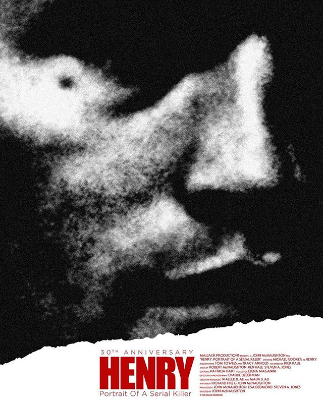 """Day 13: HENRY: PORTRAIT OF A SERIAL KILLER (1986; Dir. John McNaughton) — This is a hard movie to find """"enjoyable"""", and I wouldn't even say I like it—but that's the point. It's deeply disturbing and feels almost like a documentary without being a found footage film. The killer is the protagonist, and the camera is unforgiving in the way it stays with him for the entire movie, forcing you to bear witness to truly brutal acts without ever giving you a break. The director makes you complicit in all of Henry's killings. It's a movie that punishes you for watching it, and in that regard, it's hugely effective. And impressive. — — #halloween #31daysofhalloween #31 #october #horror #horrormovies #horrorfans #halloweencountdown #horrorwriter #horrorlover #henry #henryportraitofaserialkiller"""