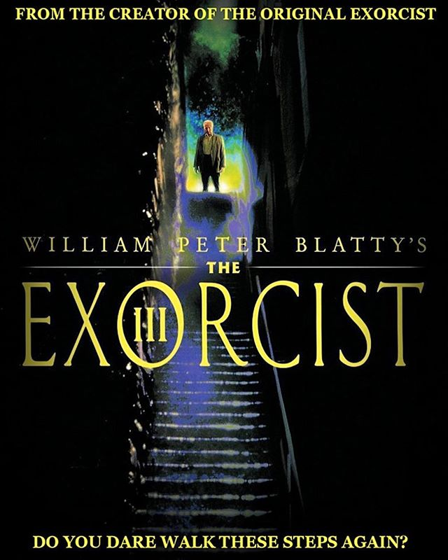 Day 17: THE EXORCIST III (1990; Dir. William Peter Blatty) — — I feel like this movie is better received these days than it was when it first debuted, which I'm glad for, because it's actually a very smart, creepy, sand surprising film. This true sequel is directed by the author of the original novel, based off his excellent novel LEGION, and it feels more spiritually connected to the original film than any other installment in the series. While this is more of a supernatural detective story (with an exorcism shoehorned in as an afterthought), it has some intriguing connections to Regan's story. — — #halloween #31daysofhalloween #31 #october #horror #horrormovies #horrorfans #halloweencountdown #horrorwriter #horrorlover #exorcist #theexorcist #williampeterblatty #legion