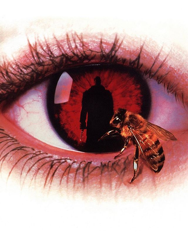 Day 18: CANDYMAN (1992; Dir. Bernard Rose). — — Candyman never really got his due in the canon of horror icons. He's a uniquely tragic figure, brought to life by both Tony Todd's performance and Clive Barker's writing (the film is only loosely based on the short story, but the essence of Barker's character is still there). There's something about an innocent man turned into a monster by violent racism—and the exploration of a story becoming enshrined in myth—that feels hauntingly timely. He's one of my favorites, and there's something about this strange urban fairytale that leaves me feeling unsettled whenever I watch it. My phobia of bees doesn't help either.... — — #halloween #31daysofhalloween #31 #october #horror #horrormovies #horrorfans #halloweencountdown #horrorwriter #horrorlover #candyman #theforbidden #booksofblood #clivebarker #tonytodd #urbanlegend