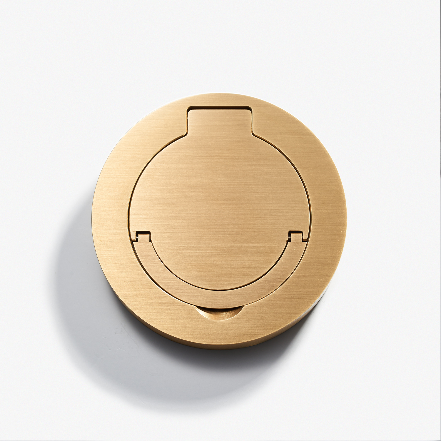 100D - Round Floor Outlet - Water Resistant - Bronze Médaille Clair.jpg