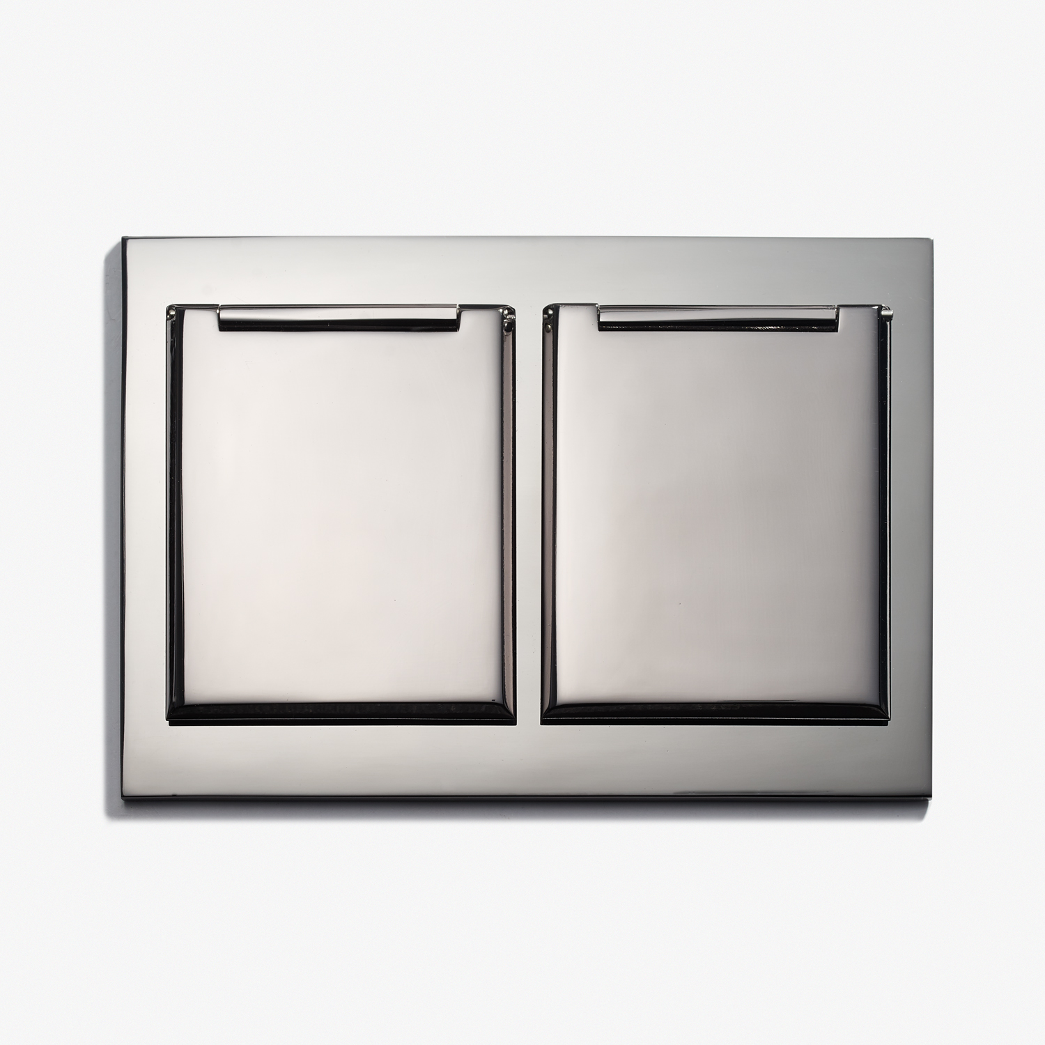 117 x 82 - Duplex Outlet - Covers - Beveled Edge - Nickel Brillant 1.jpg