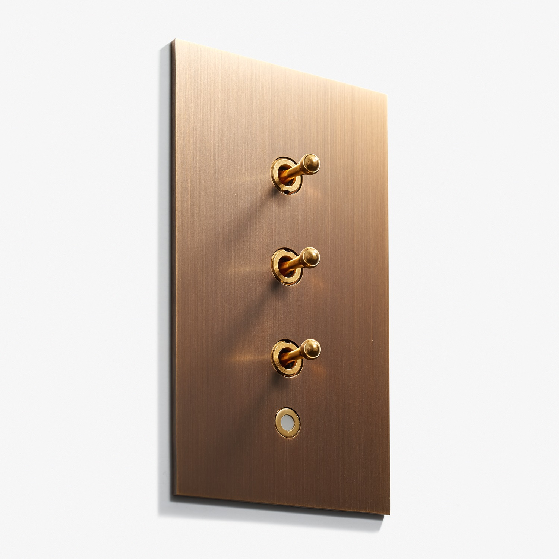 82 x 144 - 3 INV + VOY Q8 LED - Hidden Screws - Straight Edge - Bronze Médaille Foncé 2.jpg