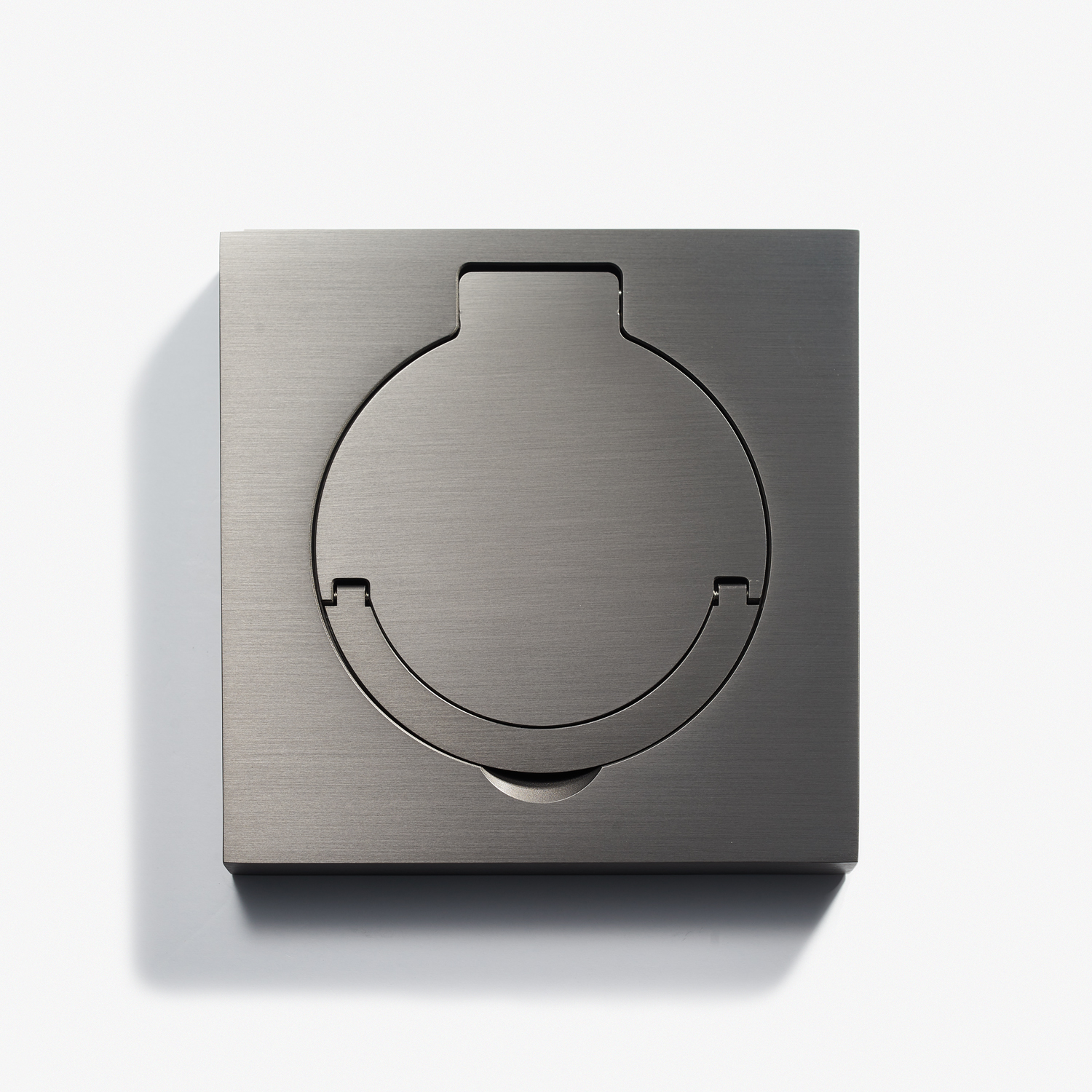 Floor Outlets_100 x 100 - Square Floor Outlet - Water Resistant - Canon de Fusil Anthracite 1.jpg