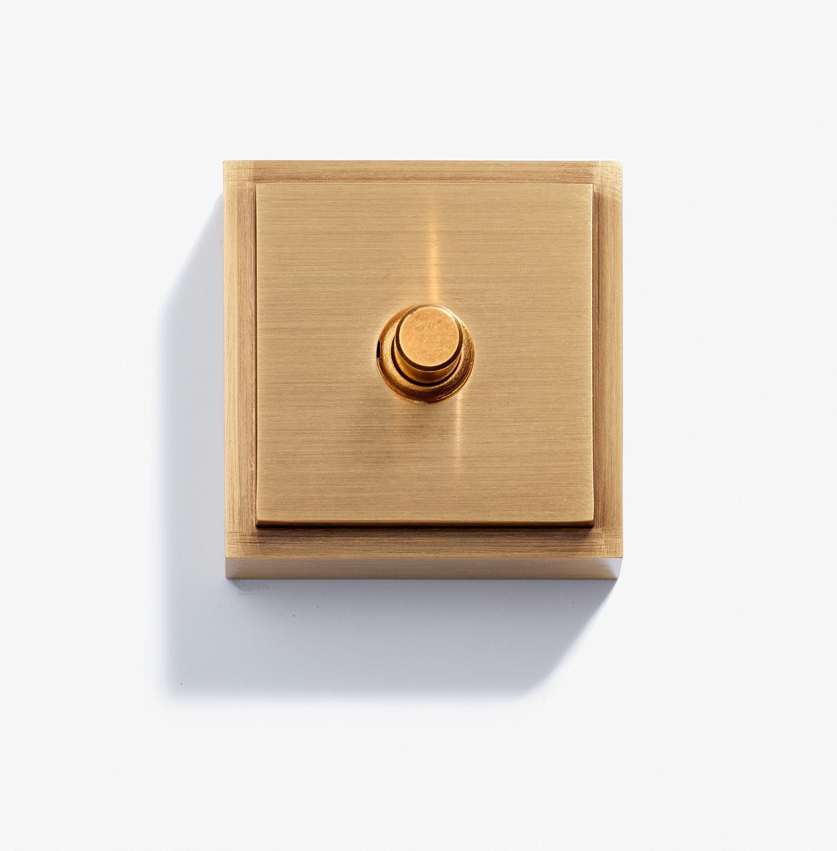 Doorbell - Carré - 1 BP 12V - Bronze Medaille Clair 1.jpg