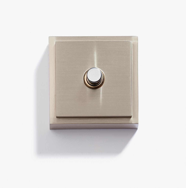 Doorbell - Carré - 1 BP 12 V - Nickel Brossé 1.jpg