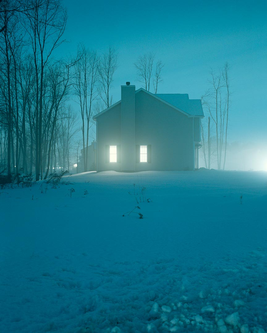 The Todd Hido photo that Kirk has on the wall of his office.