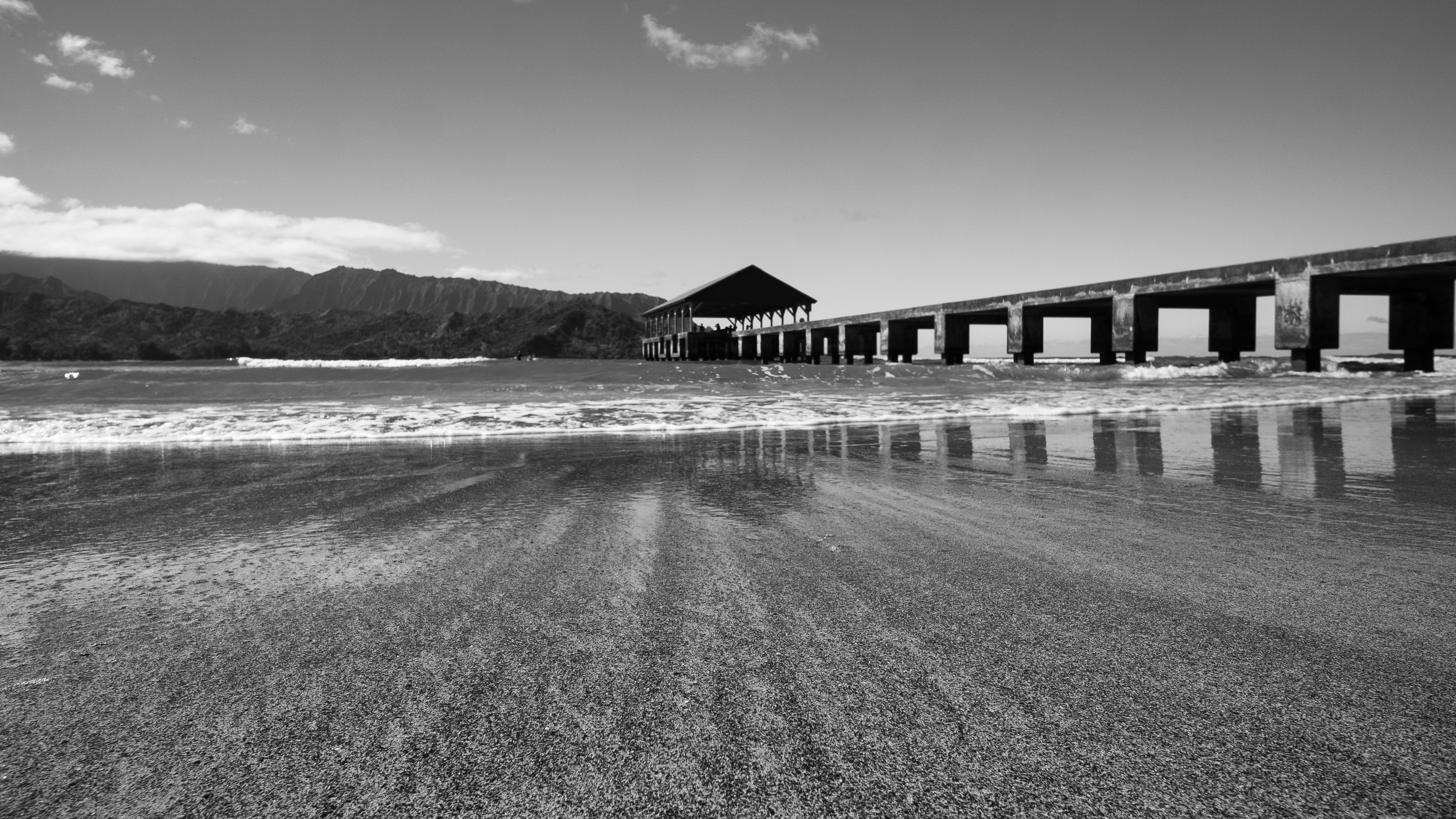 Hannalei Pier  Camera: Fujifilm X-T1 Shutter speed: 1/160 sec Aperture: f/9 ISO: 200 Photo: Jeff Carlson