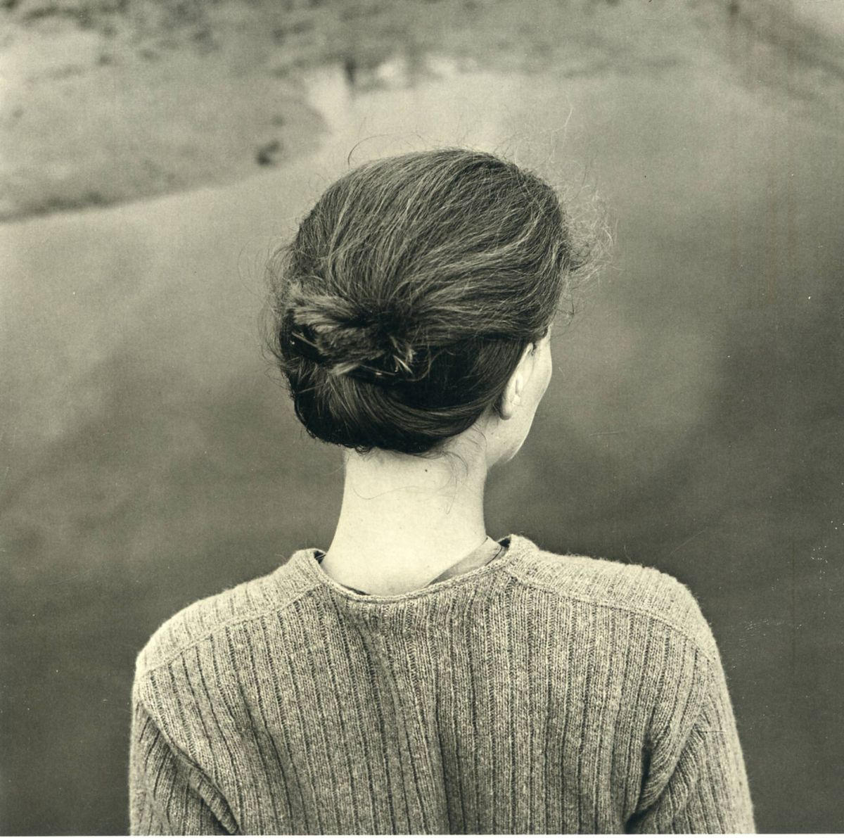 Emmet Gowin // Edith // Chincoteague Island (Virginia) // 1967 // Gelatin silver print