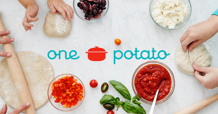 One Potato organic meal kit delivery service designed especially for families | Didn't I Just Feed You podcast [sponsor]