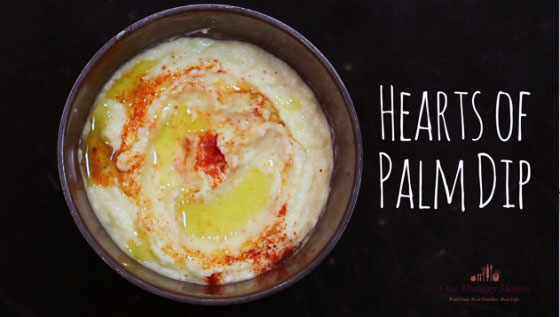 Hearts of Palm Dip recipe by Stacie Billis | Didn't I Just Feed You podcast