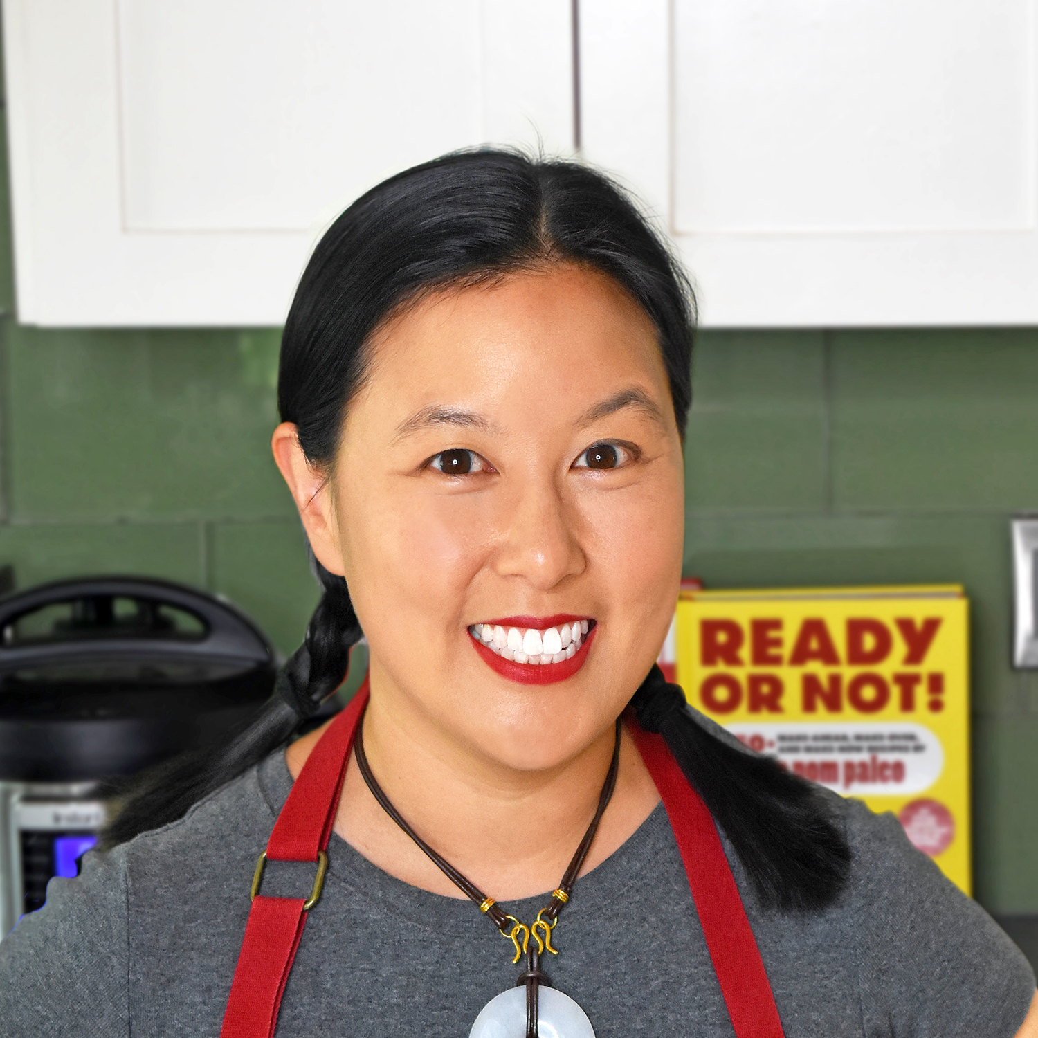 Michelle Tam of Nom Nom Paleo talking about the Instant Pot and family cooking | featured interview on Didn't I Just Feed You podcast