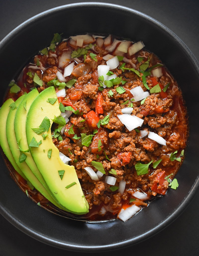 Instant+Pot+Ground+Beef+Chili+recipe+at+Nom+Nom+Paleo+%7C+featured+at+Didn%27t+I+Just+Feed+You+podcast