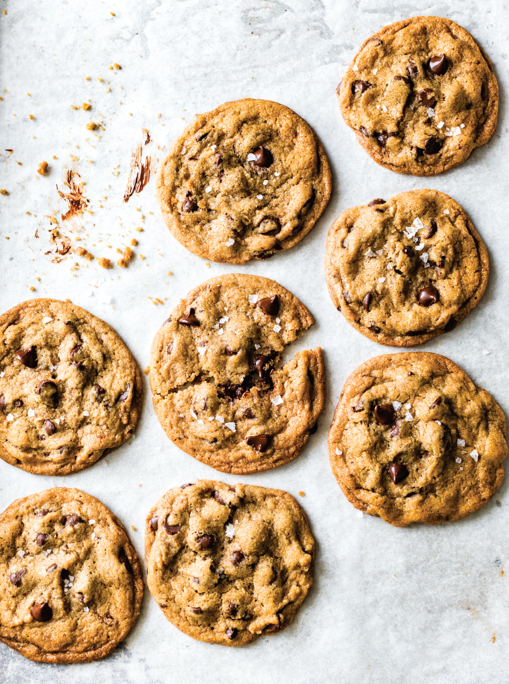 One-Bowl Chocolate Chip Cookie recipe from Prep: The Essential College Cookbook by Katie Morford | featured on Didn't I Just Feed You, a food podcast for parents