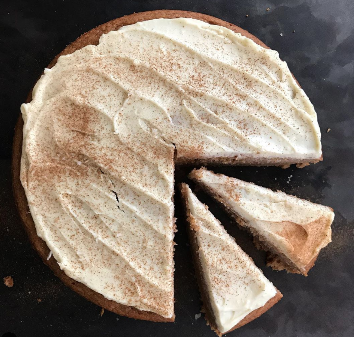 Julia Turshen's Apple Sauce Cake | Didn't I Just Feed You, a food podcast for parents (even the ones who hate to cook!) | Photo: Meghan Splawn
