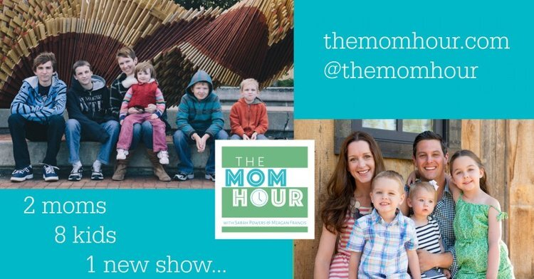 The Mom Hour, a podcast for moms by moms   featured on Didn't I Just Feed You, a food podcast for parents (even the ones who don't like to cook)