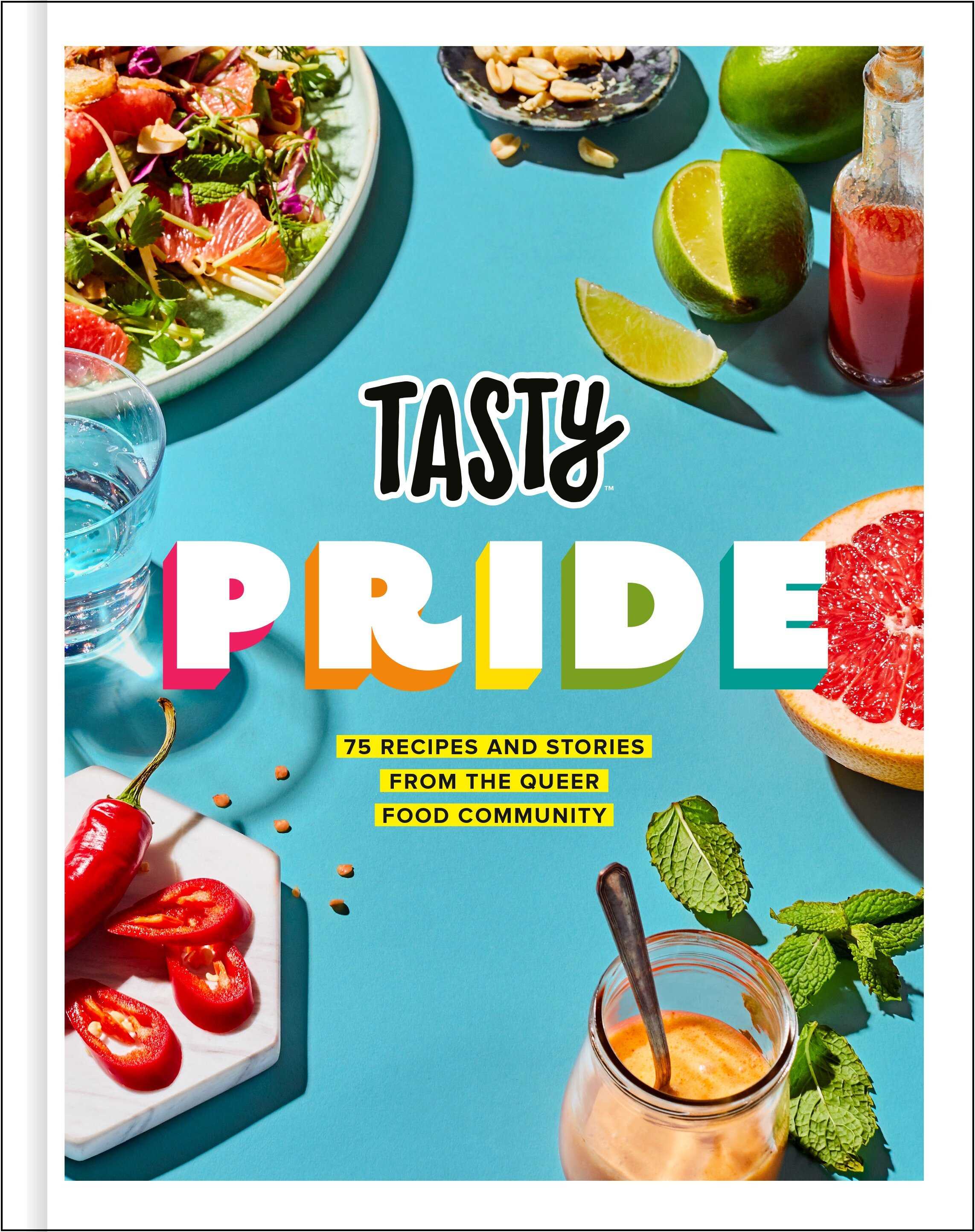 Tasty Pride cookbook | Didn't I Just Feed You, a podcast about feeding family