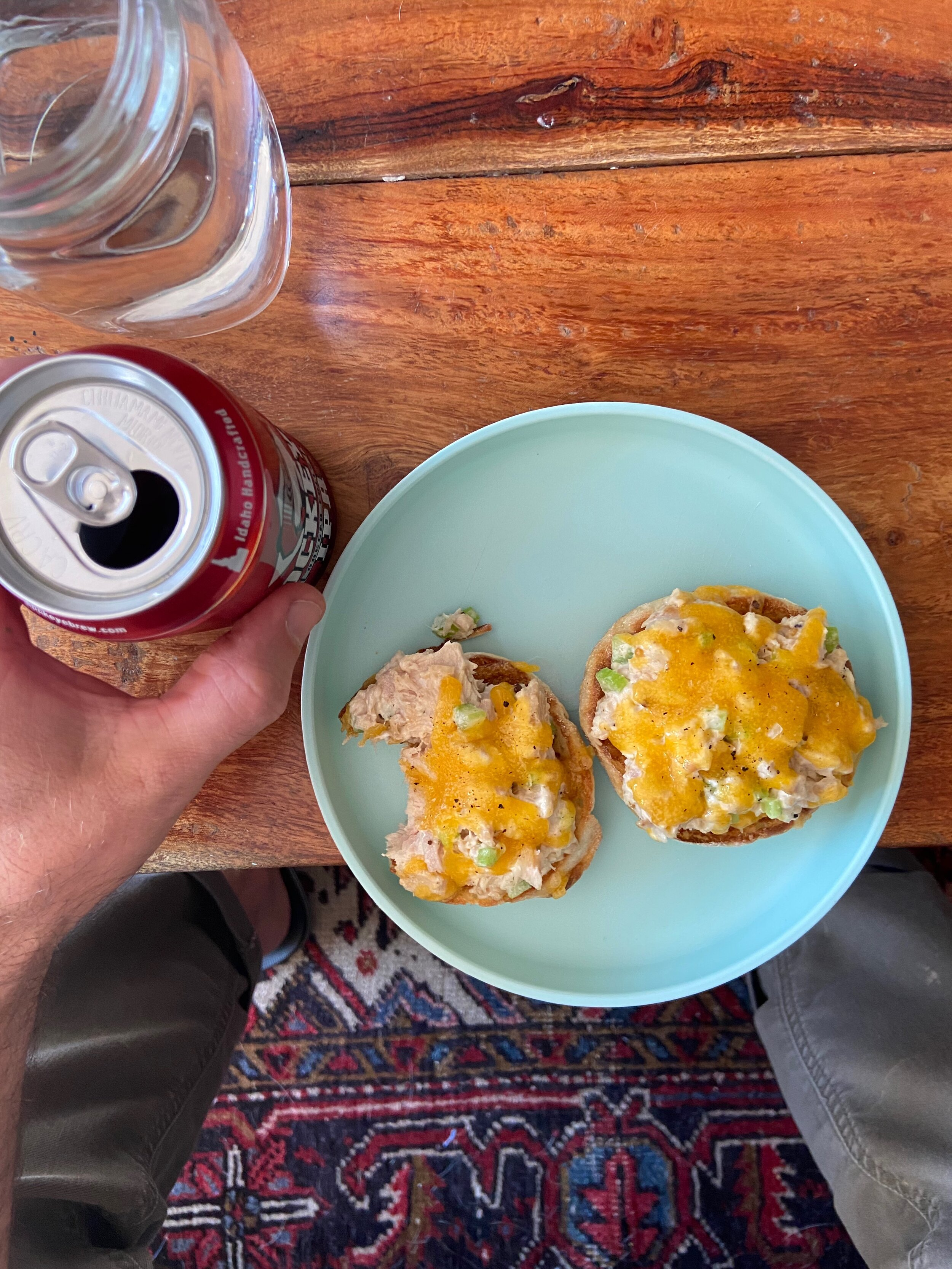 Easy Tuna Melts Anyone Can Make — YOYO Dinner Ideas from DIDNT I JUST FEED YOU