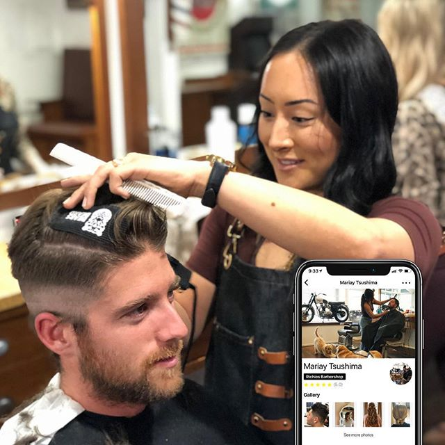 Now featuring the KLIPPED barber of the week @mtsushi! Congratulations to you and the @richiesbarbershopsb team for the new barbershop. Keep up the awesome work and thanks for using Klipped!  #klipped #stylist #barbershop #barber #stylistoftheweek #salon