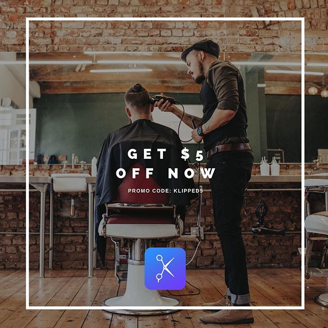 Don't miss the opportunity to have the best haircut experience with Klipped!  #klipped #haircutapp #barbershop #salon #hairstyles #hairsalon #stylist