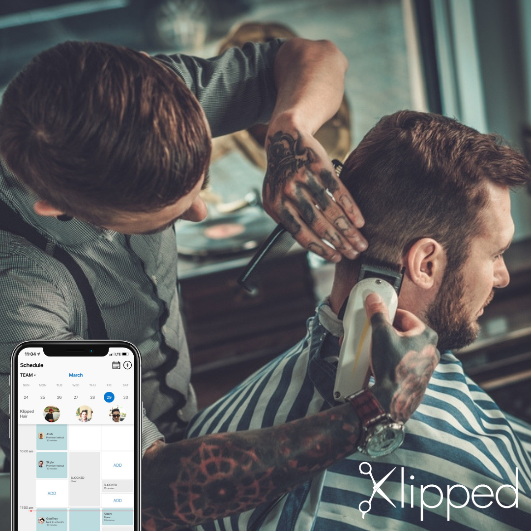 Klipped Continues to Grow - 500 users and 2,000 hair appointments processed in Santa Barbara