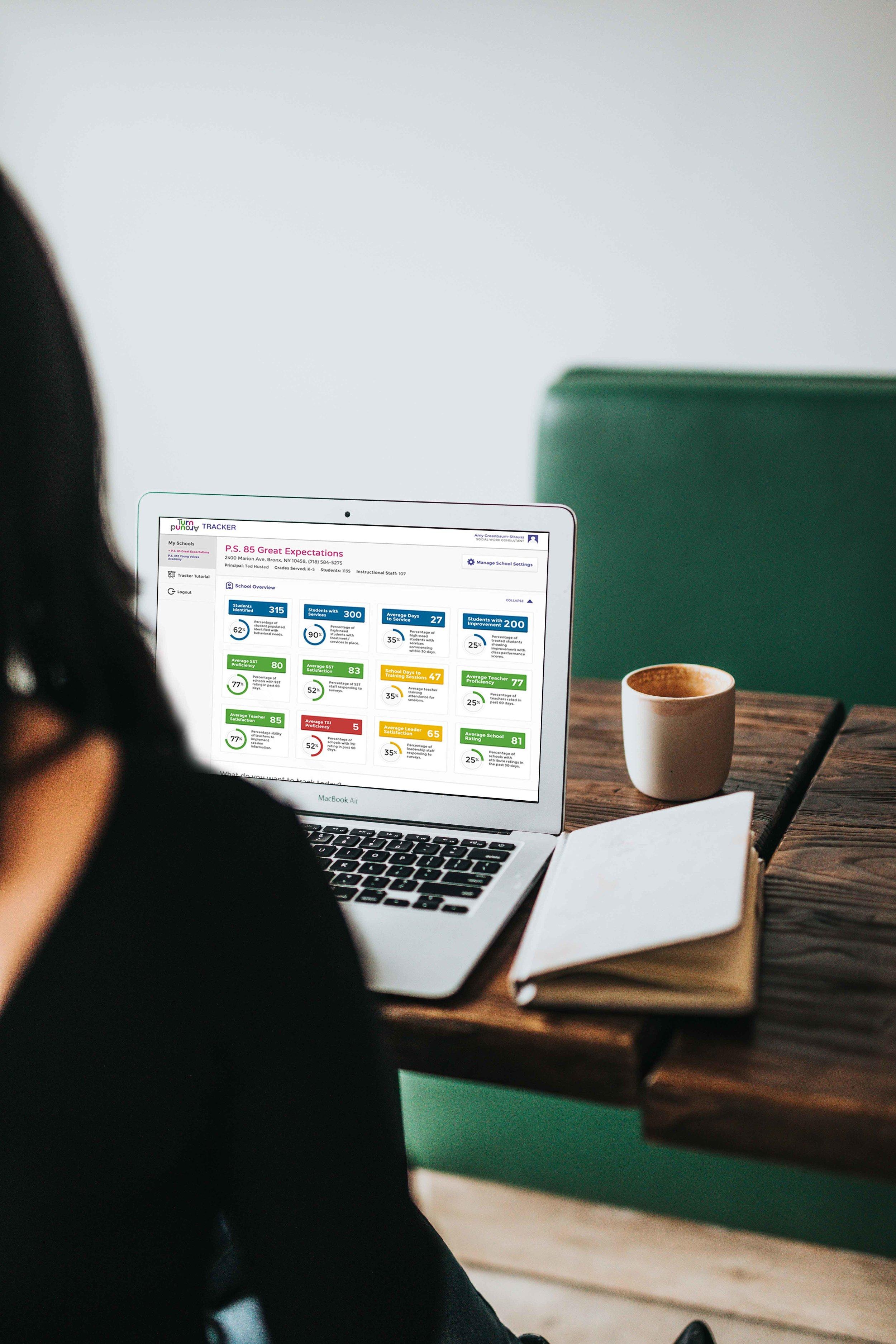 Turnaround educator portal -