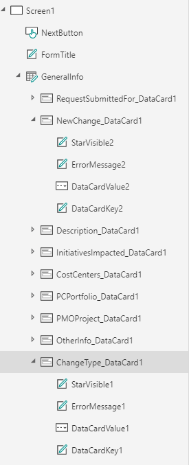 "Make sure you're using the ""DataCardValue"" name in your function for conditional display."