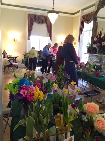 Annual Fundraising Flower Show, 2018
