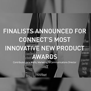 "<p>FINALISTS ANNOUNCED FOR CONNECT'S MOST INNOVATIVE NEW PRODUCT AWARDS<a href=https://bit.ly/2M3Eppw target=""_blank"">Oct 8, 2019 →</a></p>"