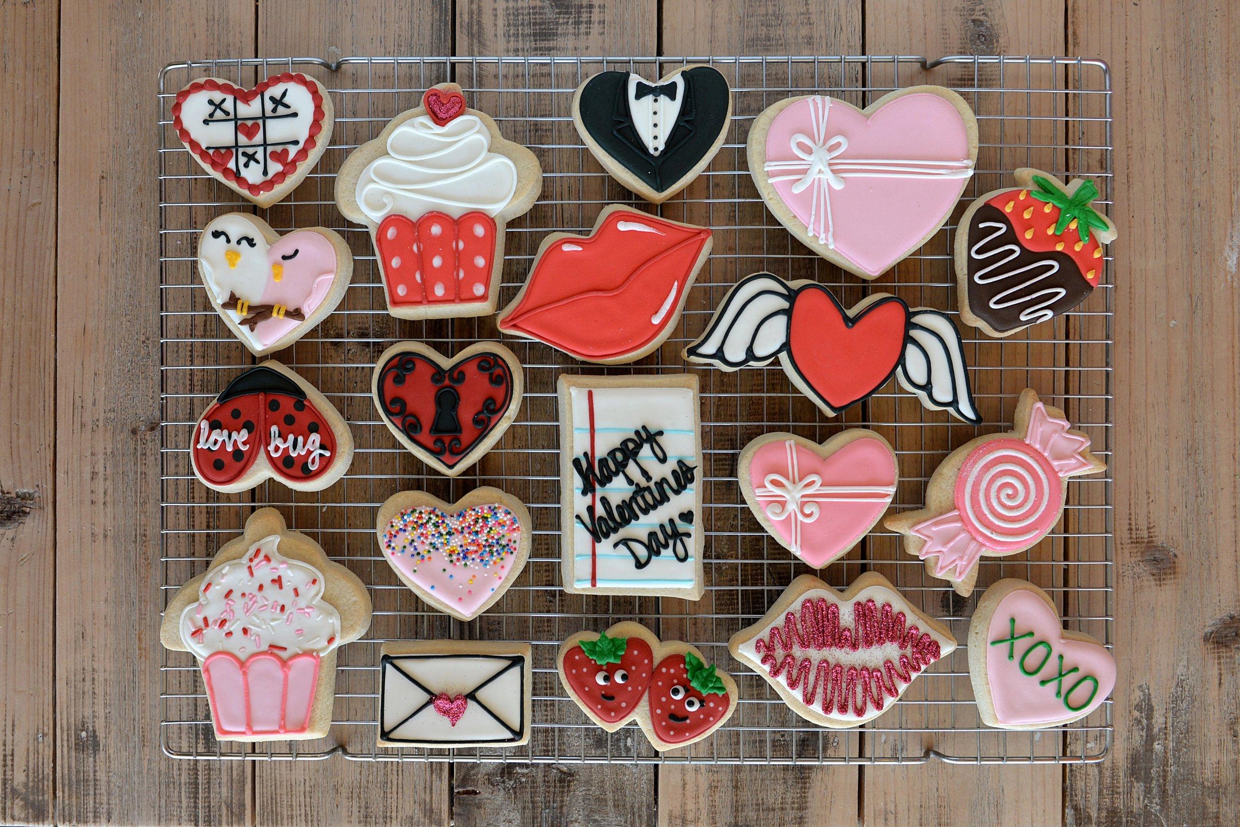 Valentine Cookies 17 by Dragana Harris.JPG