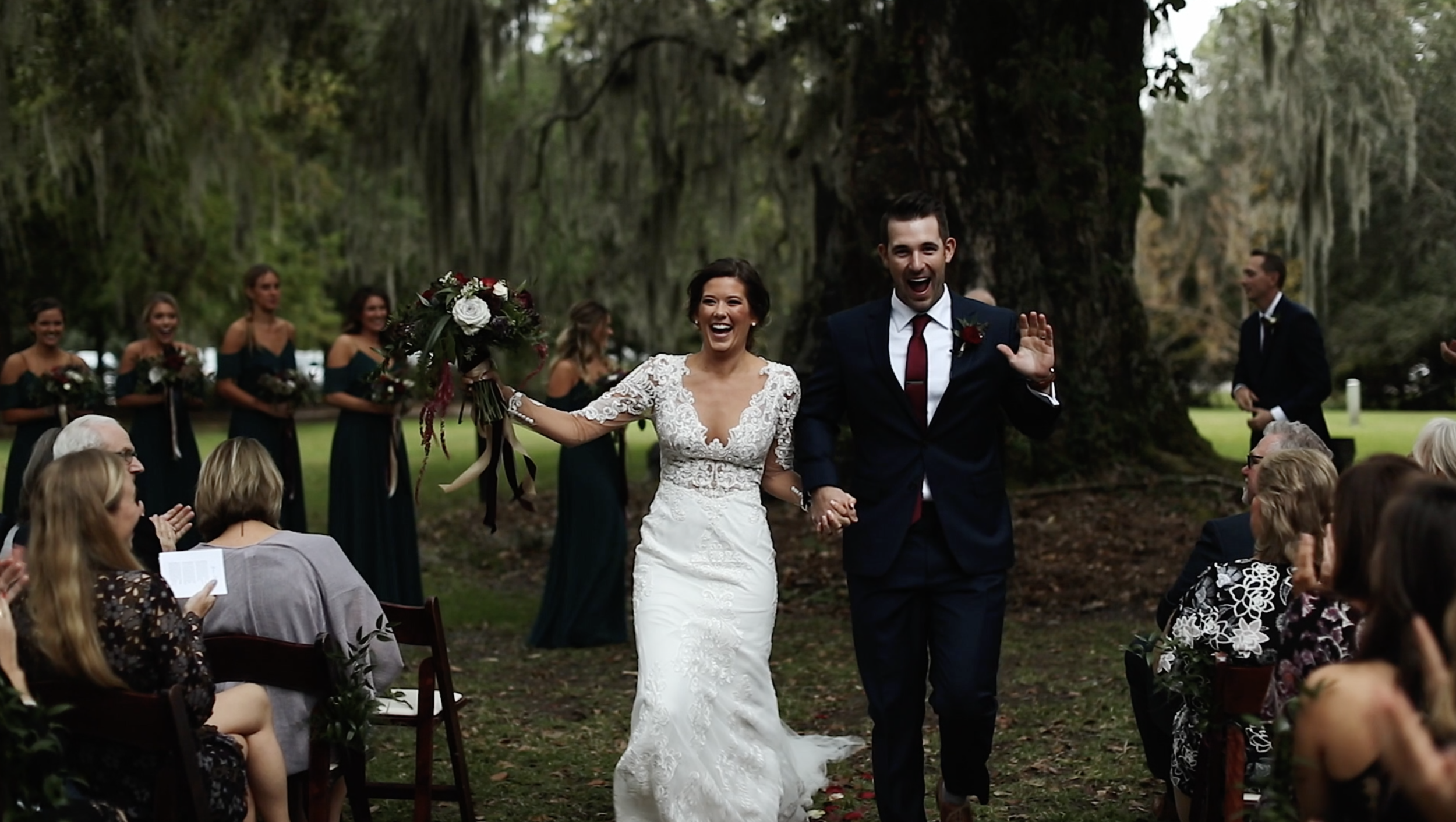 Magnolia Plantation Wedding Charleston, South Carolina