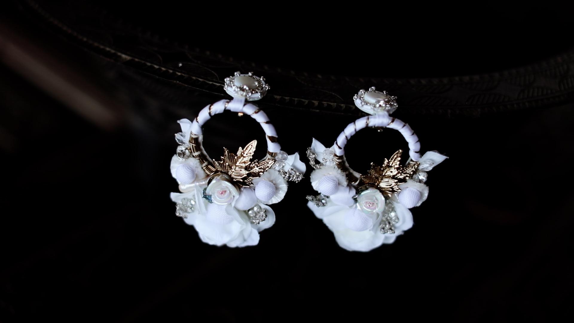 Boho-Inspired Statement Earrings Sayulita Mexico Destination Wedding