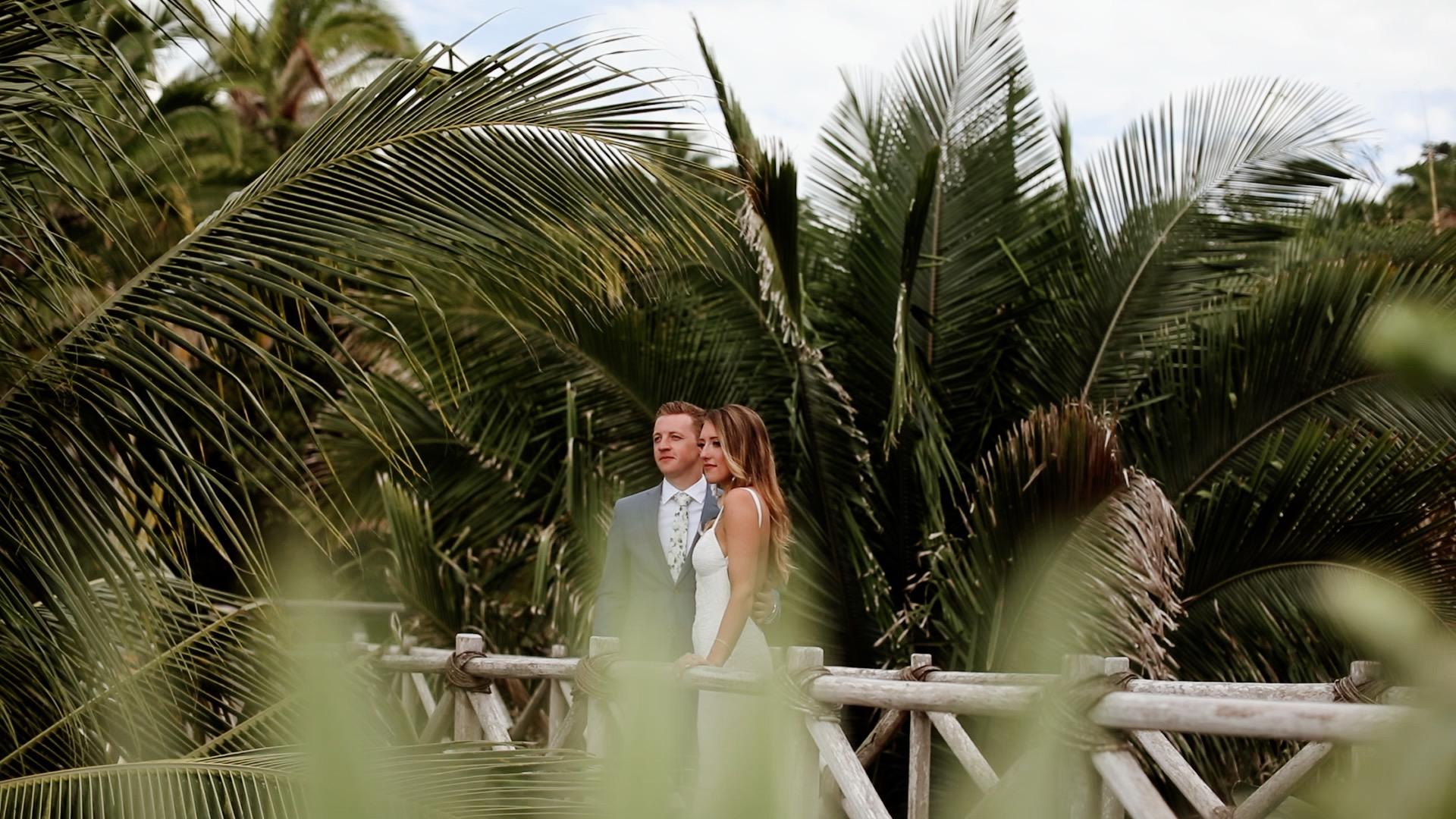 Bride Groom Teitiare Estate Sayulita Mexico Wedding