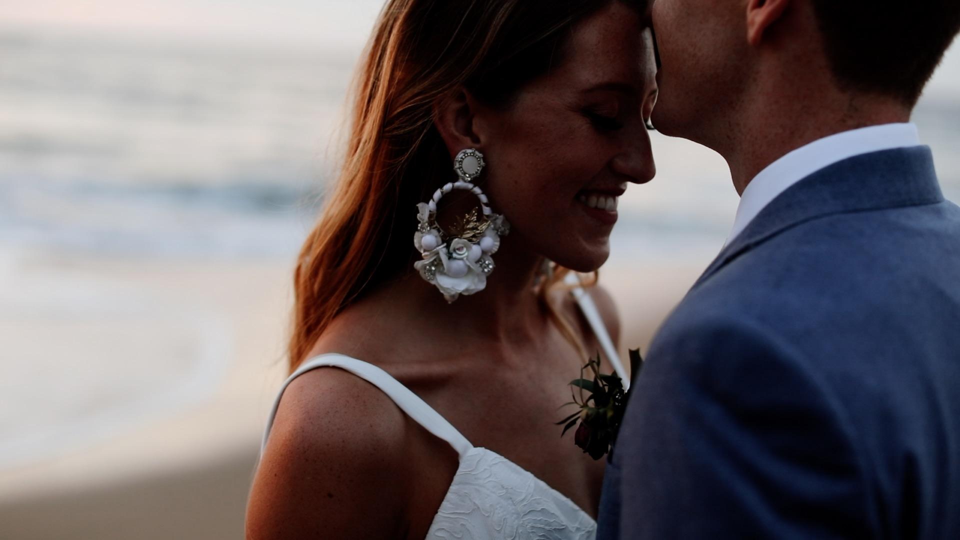 Bride Groom Sunset Teitiare Estate Sayulita Mexico Wedding