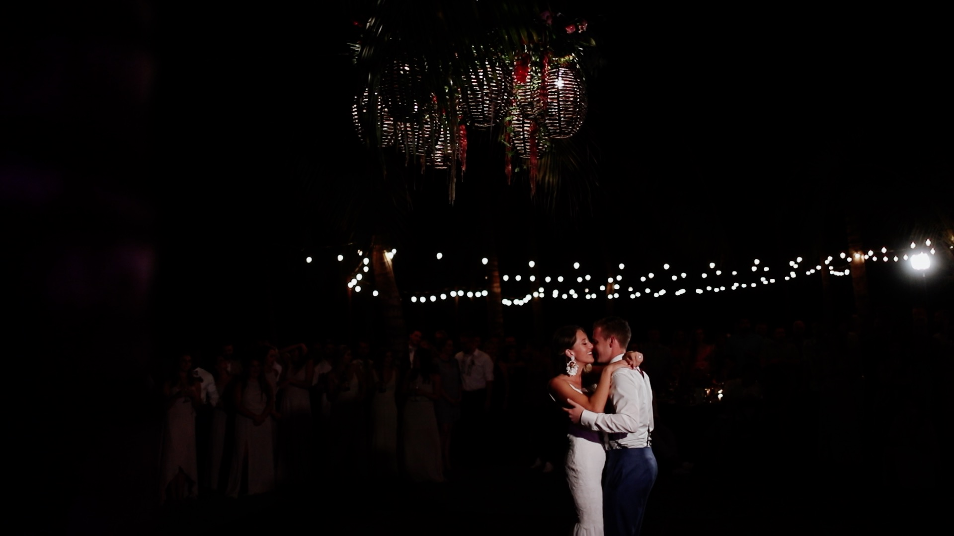 Bride Groom First Dance Teitiare Estate Sayulita Mexico Wedding
