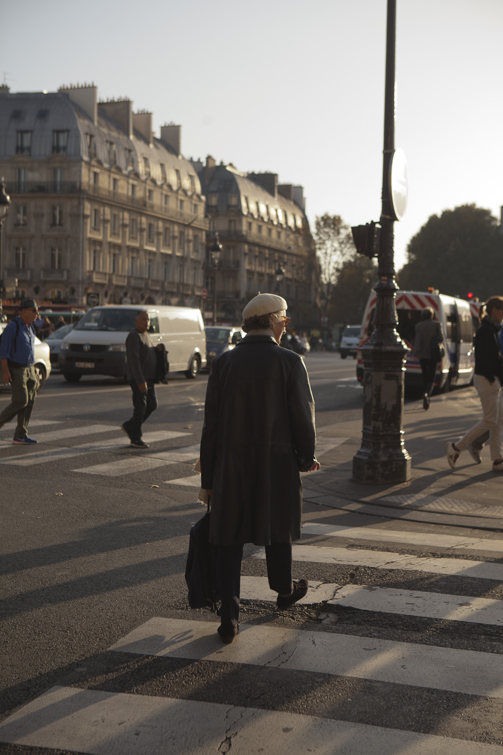 The Streets of paris, france -