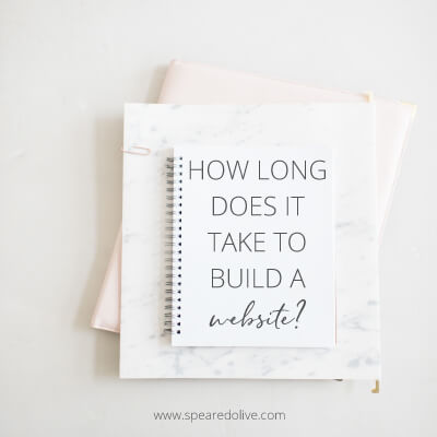 how long does it take to build a website