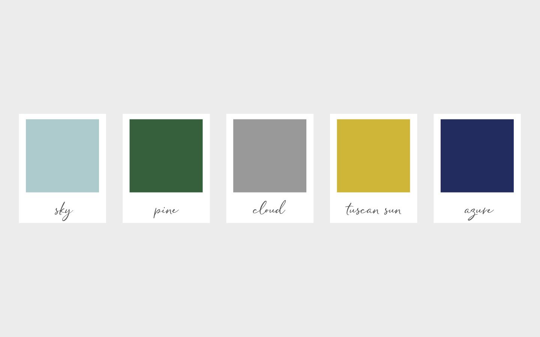 forge-color palette-portfolio