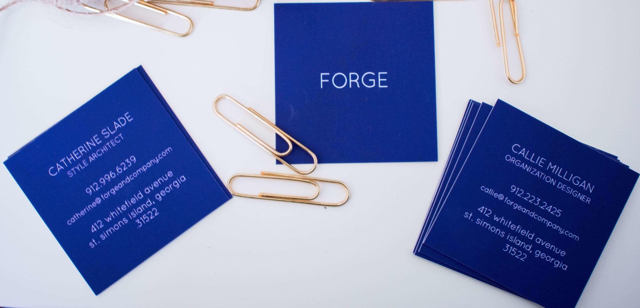 forge-business cards-portfolio