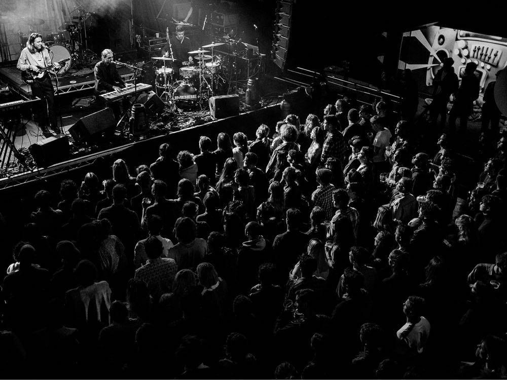 Great crowd in Bristol.