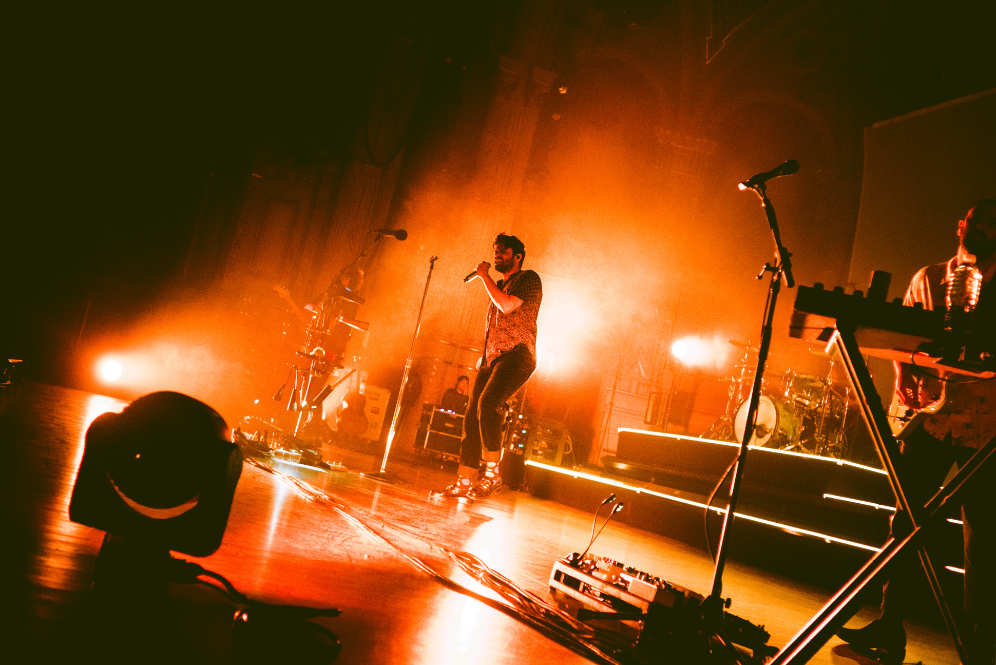 Live Review: Young The Giant - Orpheum, Vancouver 04/03/2019 — When