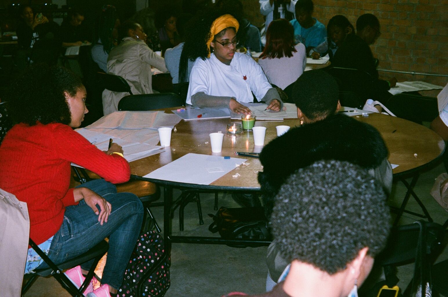 Workshops - Workshops ranged from Black motherhood, employability, gender and sexuality and a zine making workshop