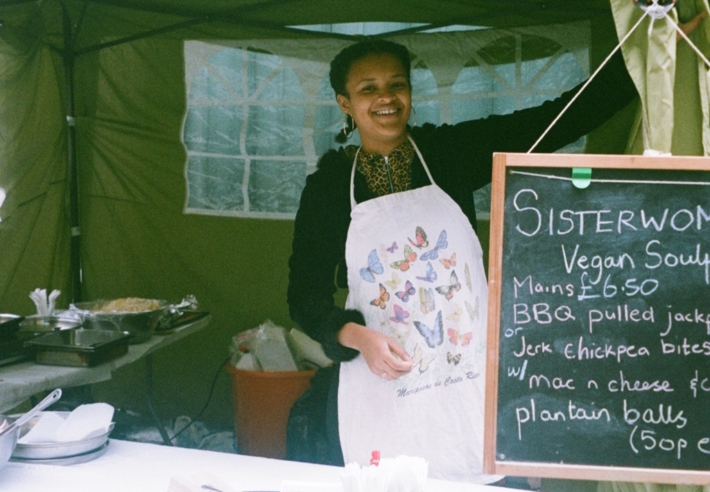 Food Market - Food market was set up selling Afro-Caribbean food and vegan soul food.