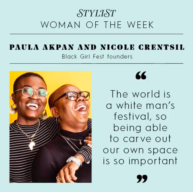 Stylist Magazine - Stylist Magazine chose Paula and Nicole as Stylist Women Of The Week.Photo by Andy Parsons