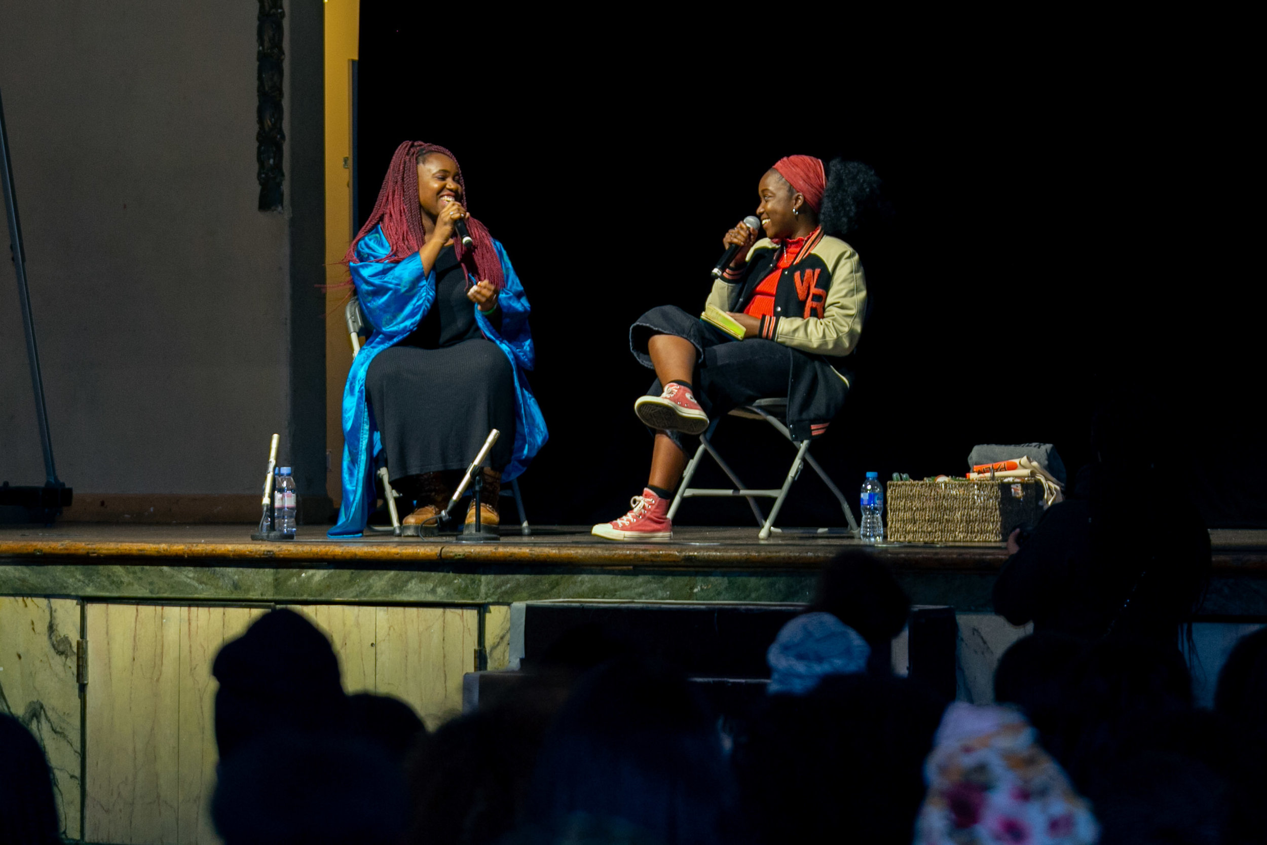 Talks - Discussions ranged from women in media, the politics of Black hair and beauty, literature + more.
