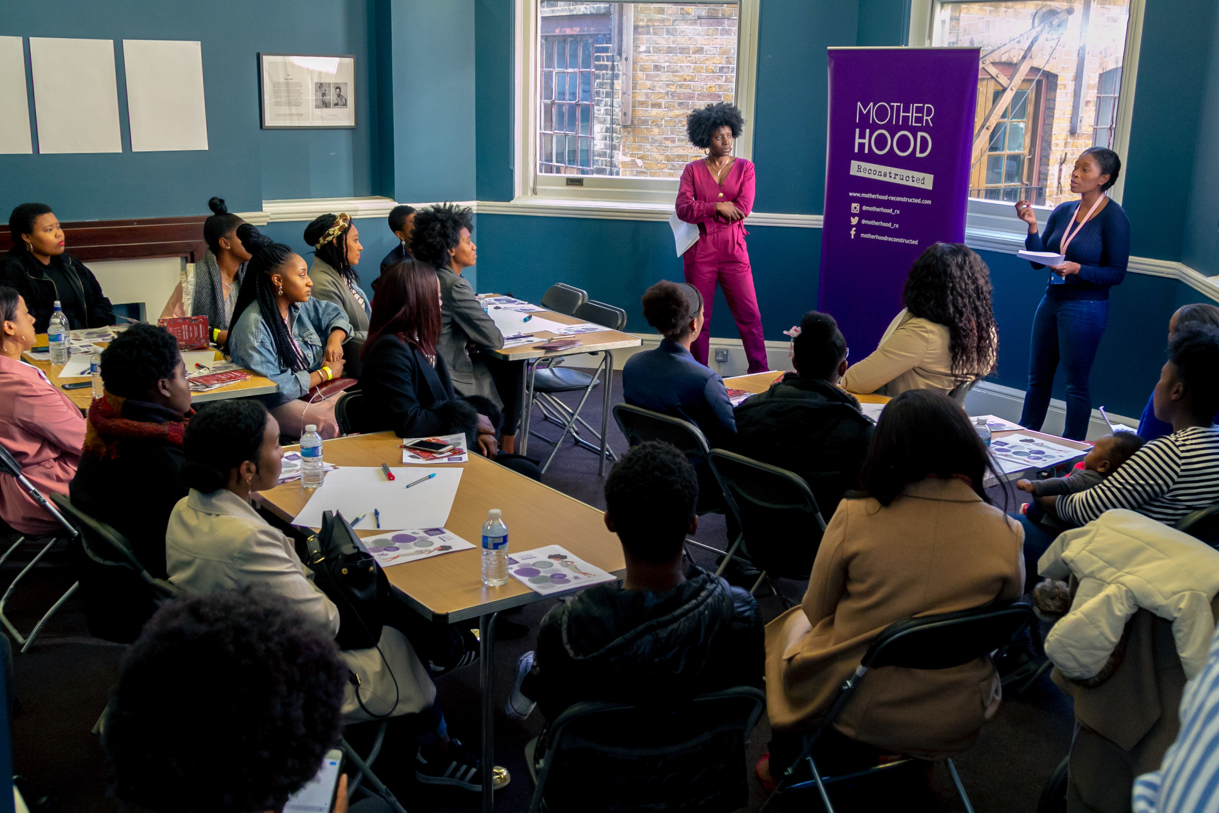 Workshops - Workshops ranged from Black motherhood, employability, gender and sexuality + more.