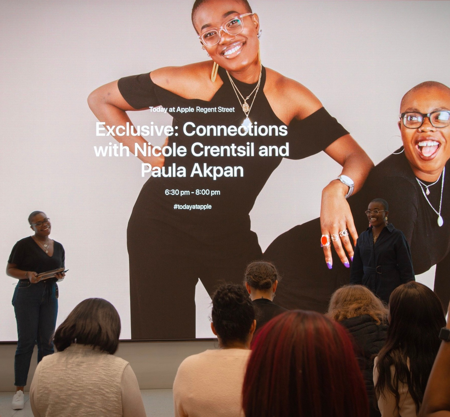 We spoke at Apple! - As part of Apple Regent Street' Business Entrepreneur series, we delivered a keynote and interactive activity in store.
