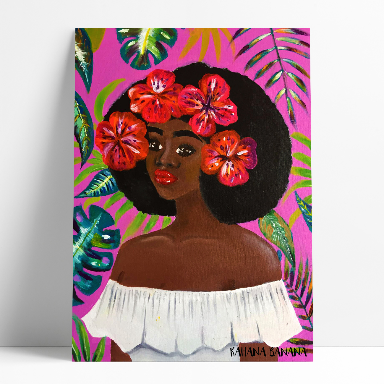 FLOWER CHILD by  Artist: Rahana Banana