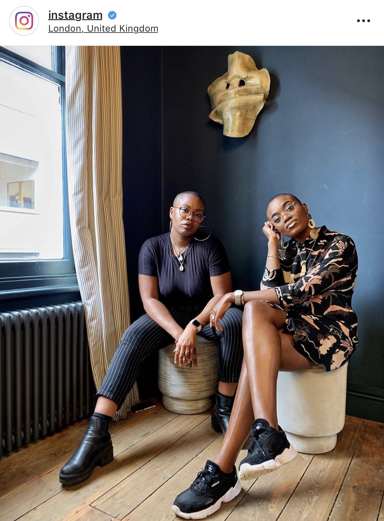 We're on Instagram - Co-founders Paula and Nicole featured on Instagram's Advocates mini doc series, talking all the things Black Girl Festival, friendship and black womxn.