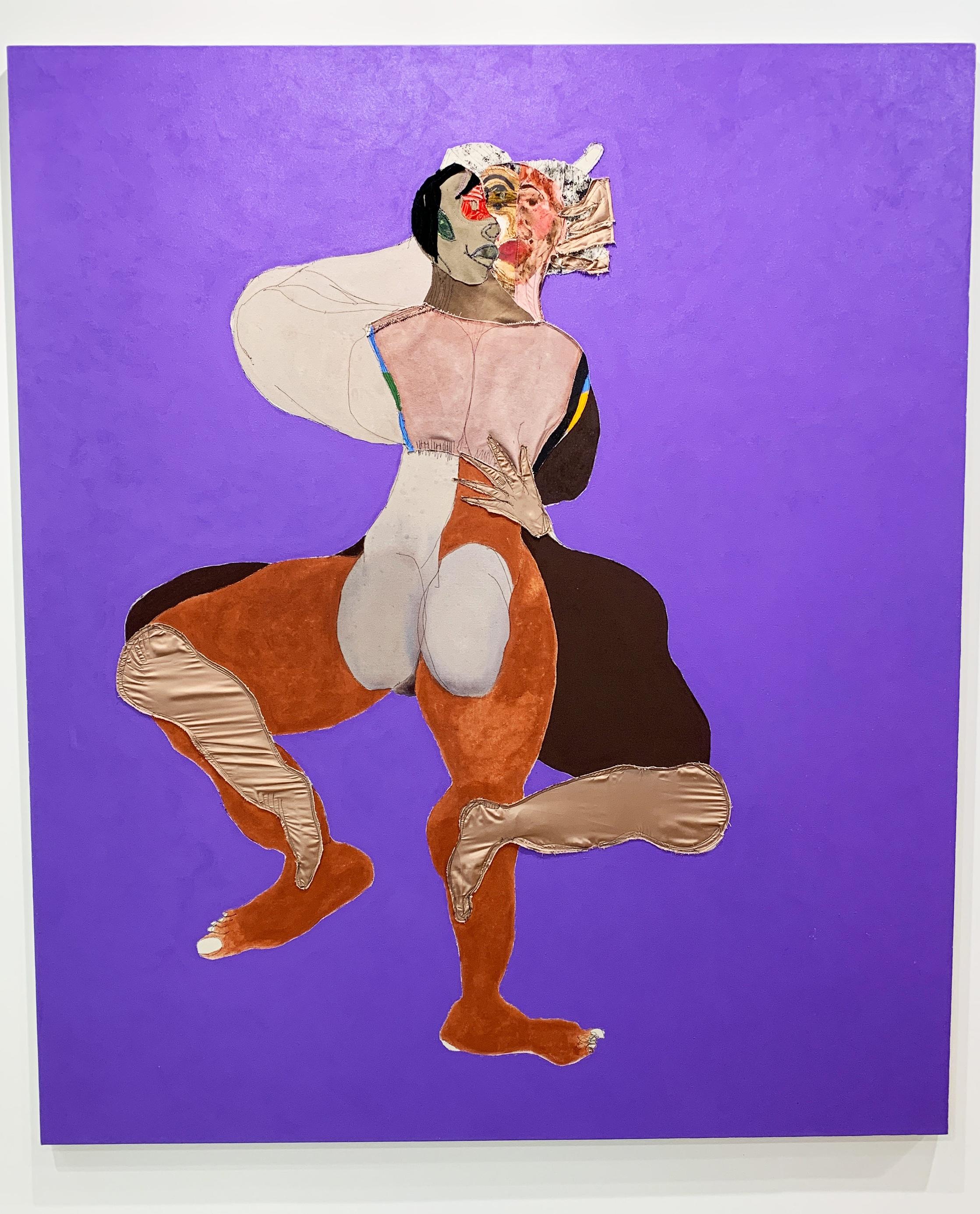 Cultured Magazine Editor-in-Chief Sarah Harrelson selects artist Tschabalala Self at Pilar Corrias